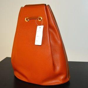 Handbags - NEW Genuine Leather Italian Backpack